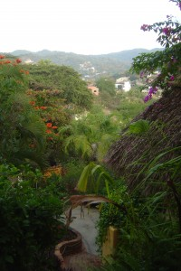 View from Casita